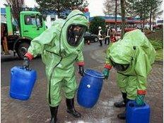 Vier Einsatzgruppen für Chemieunfälle