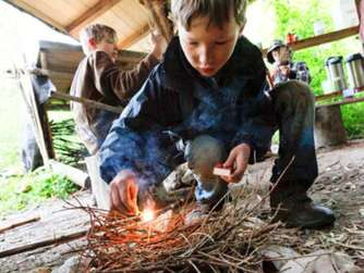 Kinderreporter Outdoor-Camp in Bad Feilnbach