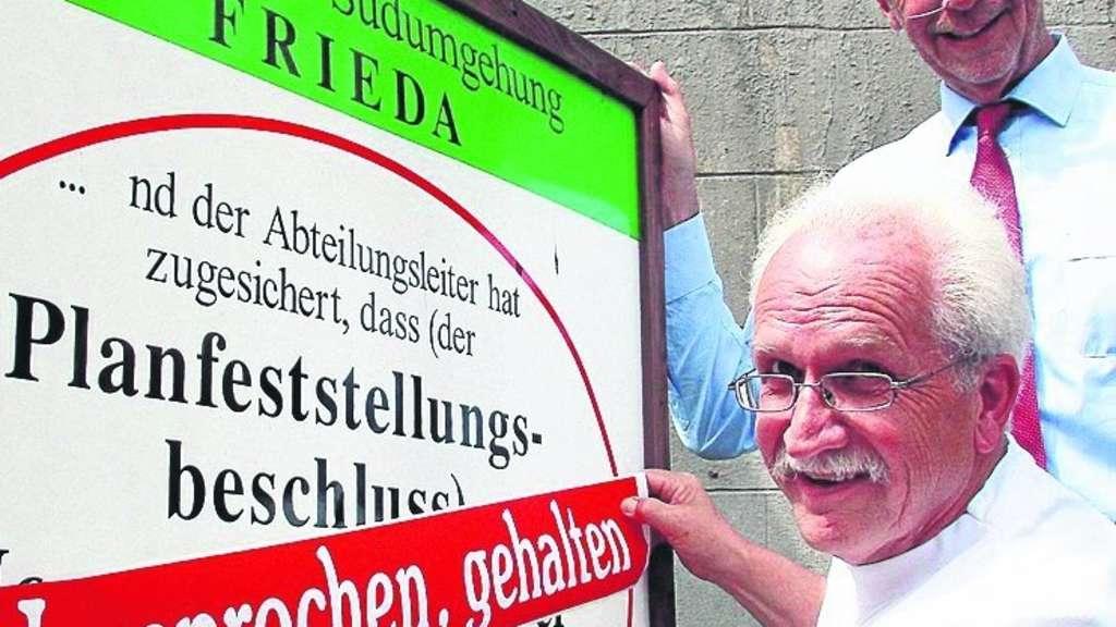 Frieda: Umgehung soll 2015 fertig sein | Meinhard