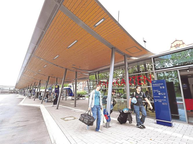Ausgezeichnet: Der Deutsche Verkehrsplanungspreis gehört dem Stadtbahnhof in Eschwege. Die Station wurde vom Verkehrsclub Deutschland am Donnerstag in Berlin ausgezeichnet. Foto:Archiv