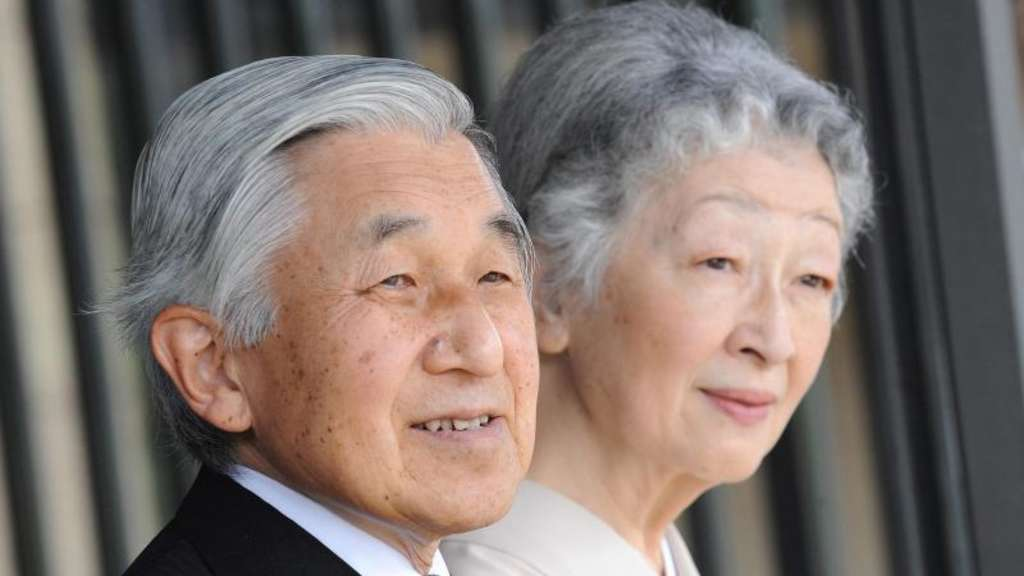 Kaiser Akihito und Kaiserin Michiko von Japan. Foto: Everett Kennedy Brown