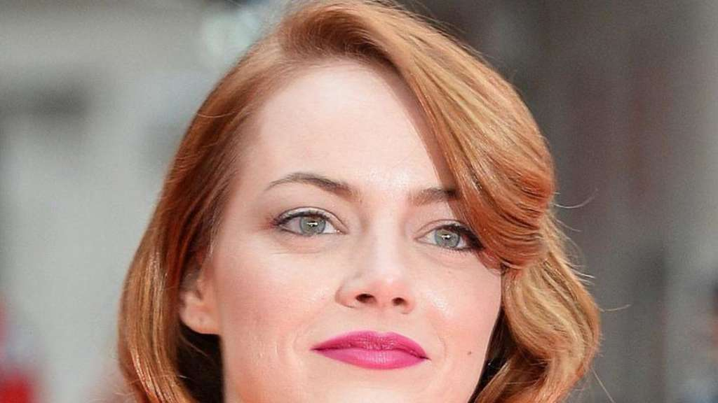 Emma Stone 2014 in London. Foto: Andy Rain