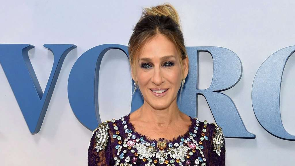 "Sarah Jessica Parker bei der ""Divorce""-Premiere in New York."