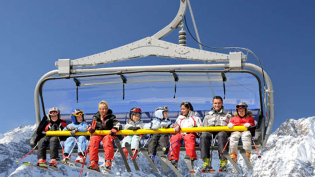 Ski Sessellift Reise