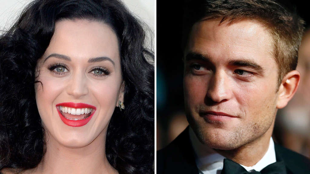 Katy Perry und Robert Pattinson
