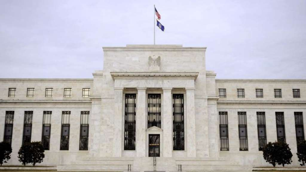 Die US-Notenbank Federal Reserve in Washington. Foto: Matthew Cavanaugh/Archiv