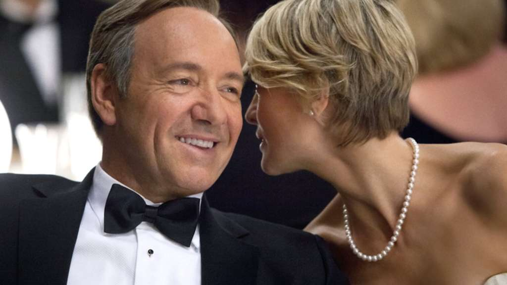 Kevin Spacey, House of Cards, Robin Wright