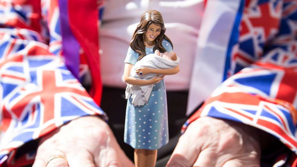 Herzogin Kate Prinz William Prinz George Royal Baby
