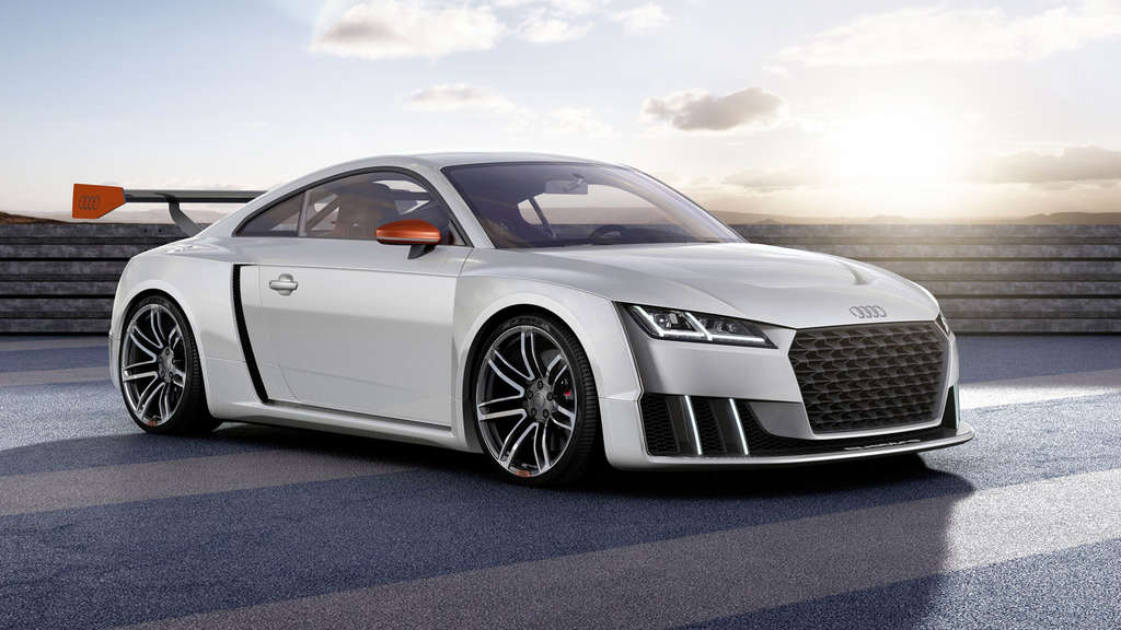 Technikstudie Audi TT clubsport turbo