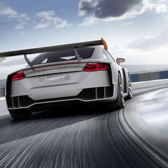 Spoiler-Alarm: Audi TT Clubsport Turbo mit 600 PS