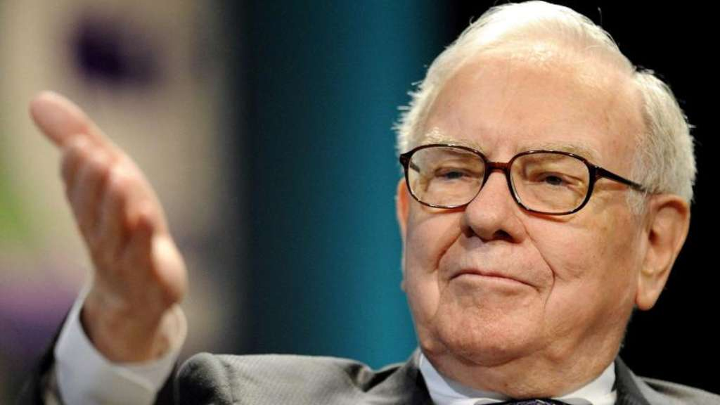 US-Staranleger Warren Buffett während eines Auftritts in Kalifornien. Foto: Paul Buck / Archivbild