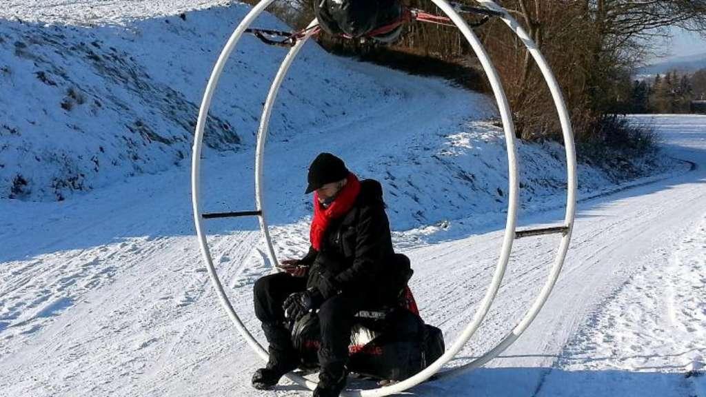 Hornschuh Kassel aachener wandert mit seinem rhönrad bis nach teheran lokales