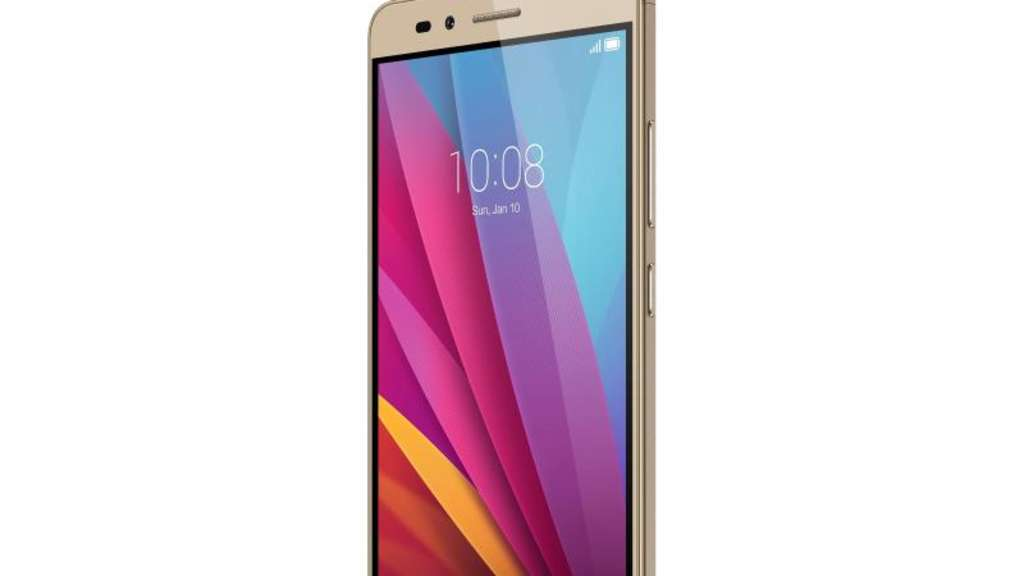 Das 5,5 Zoll große Display des Honor 5X löst in Full HD auf. Foto: Honor