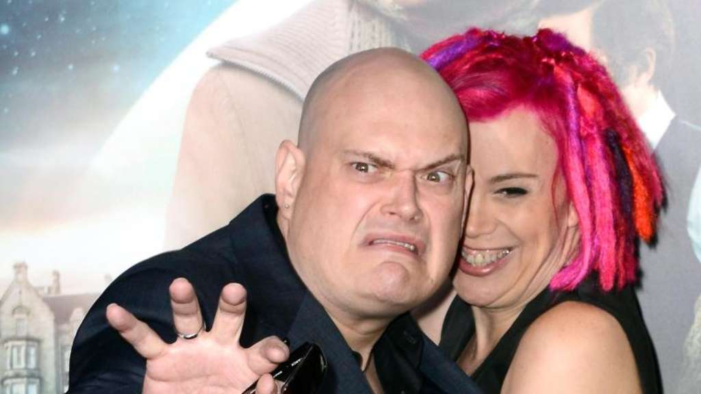 "Andy (l.) und Lana Wachowski bei der Premiere von ""Cloud Atlas"" 2012 in Hollywood. Foto: Paul Buck"