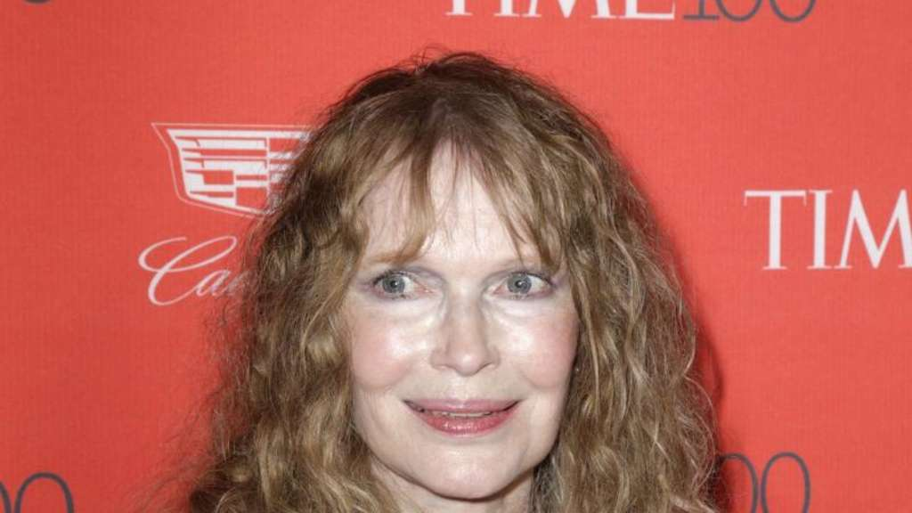 Mia Farrow bei der Gala in New York. Foto: Jason Szenes