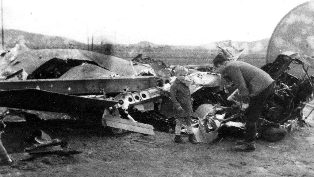 luftkrieg 1944 piloten sterben bei schlacht ber herleshausen herleshausen. Black Bedroom Furniture Sets. Home Design Ideas