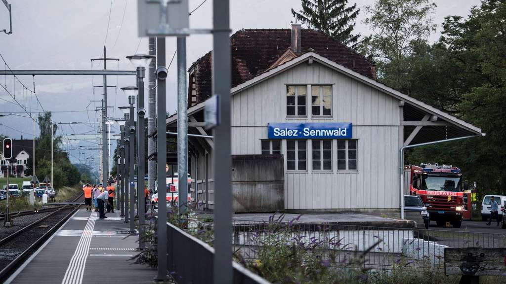 Attack on train in Switzerland