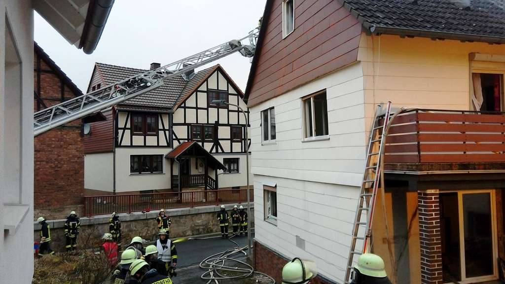 Brand in Frankershausen