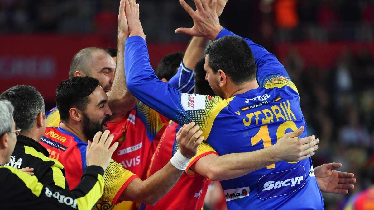 Schweden Spanien Handball