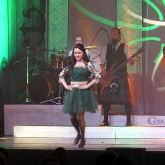 Irish Dance mit  Cornamusa in der Stadthalle