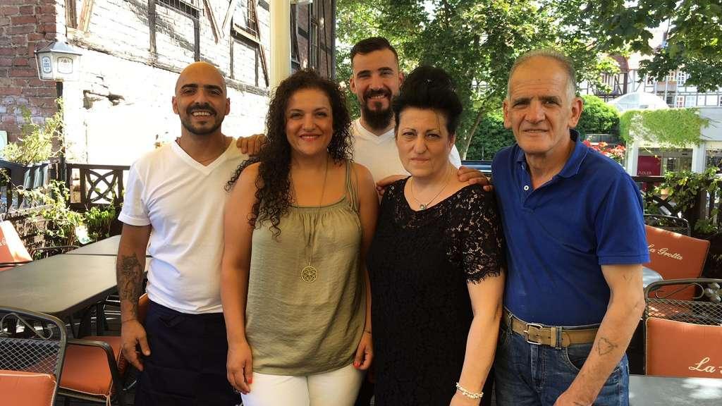 Sommerküche Italienische : La grotta in eschwege bietet italienische und leichte sommerküche