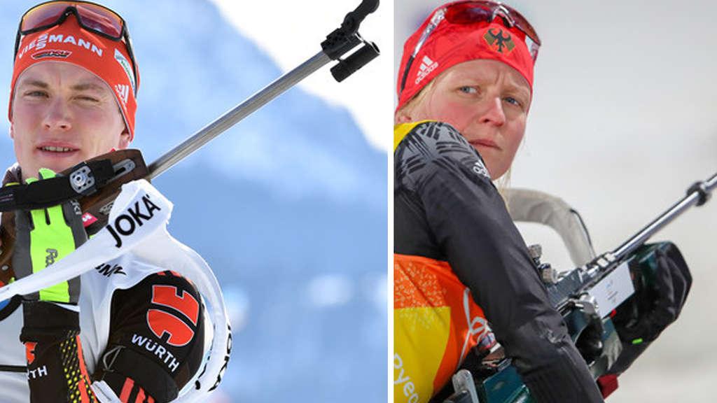 Streit Biathlon Damen