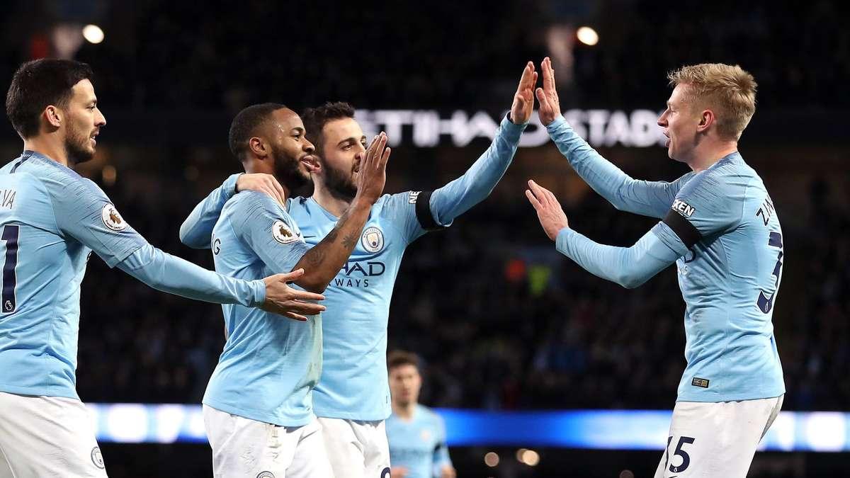 Manchester City Contra Chelsea: Man City Deklassiert Chelsea Und übernimmt Platz Eins