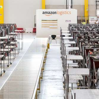 Amazon baut riesiges neues Verteilzentrum in Knüllwald