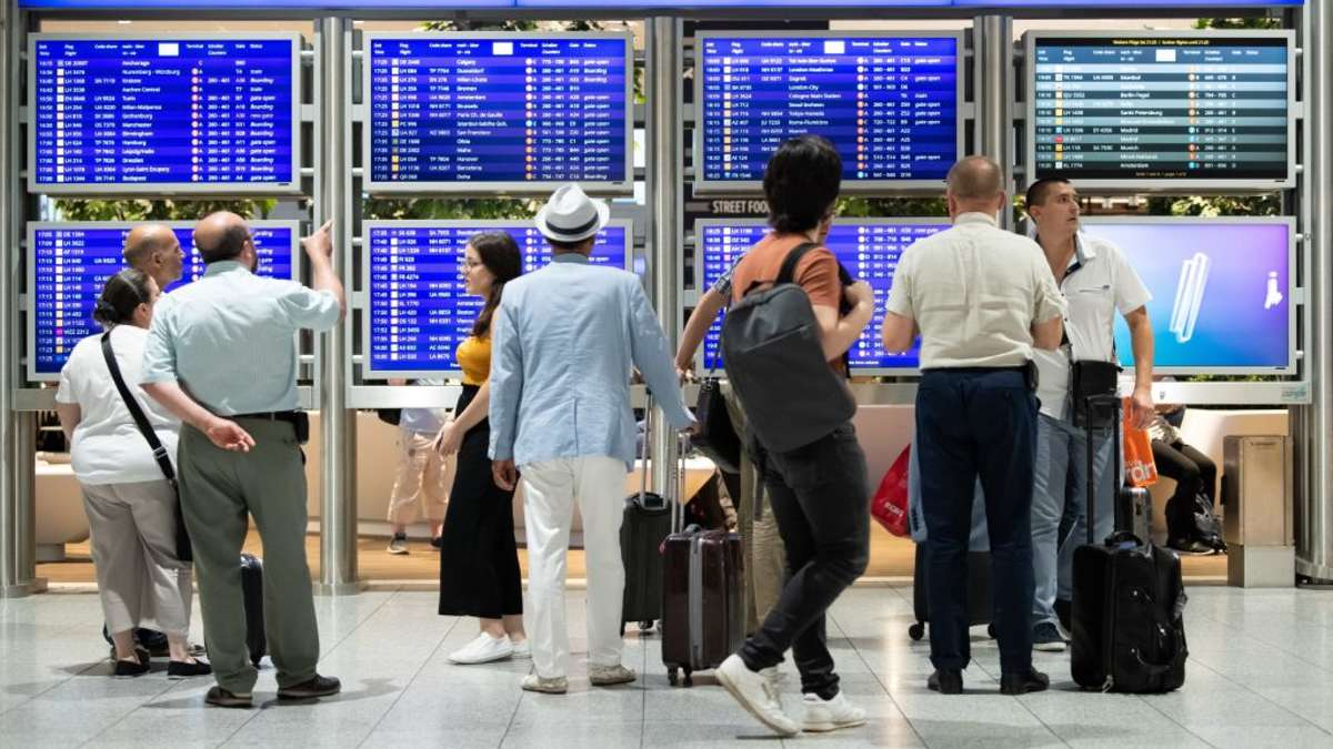 Auskunft Flughafen Frankfurt