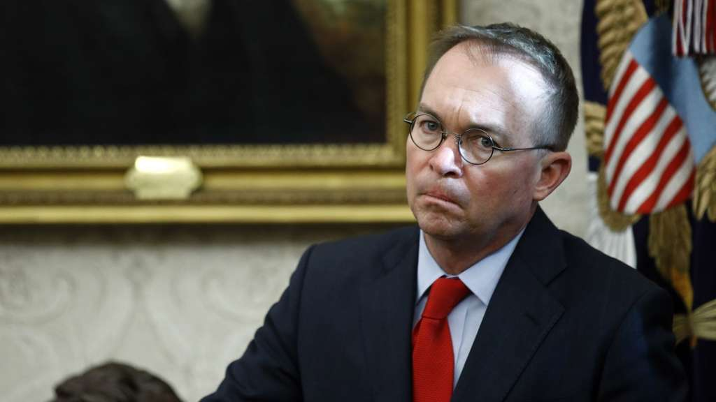 Donald Trumps Stabschef Mick Mulvaney