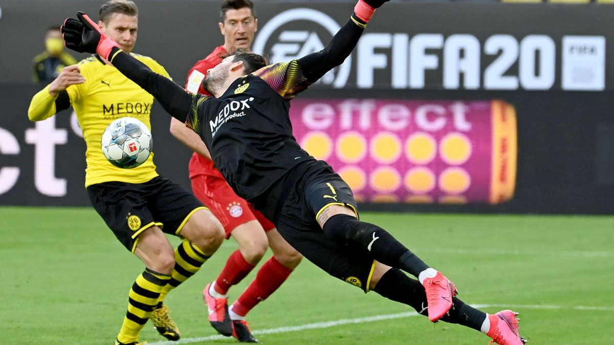 Fussball Dortmund München