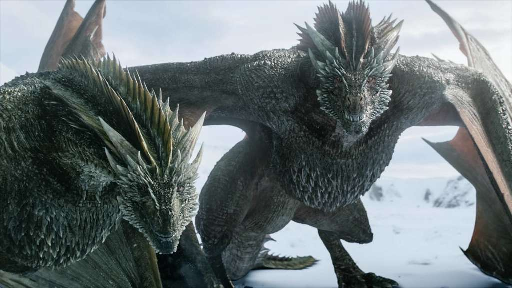 "Drachen aus der Serie ""Game of Thrones""."